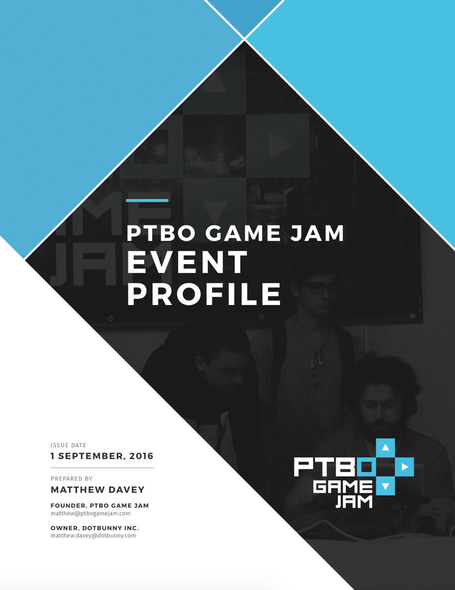 PTBO Game Jam 01 Event Profile