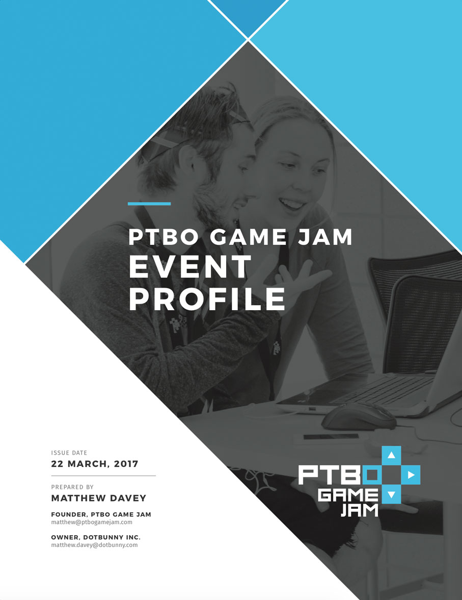 PTBO Game Jam 02 Event Profile